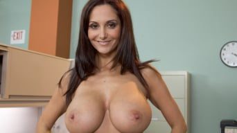 Ava Addams in 'MILF with a tiny body and HUGE tits Gangbanged by Co-Workers'