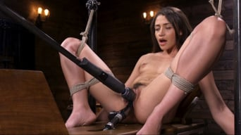 Avi Love in 'Cute Little Avi Love Is Bound And Machine Fucked'