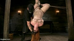 Barbary Rose - Pain Slut in Extreme Bondage Suffers from Brutal Torment (Thumb 05)