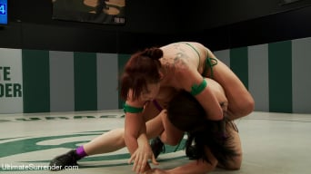 Bella Rossi in 'Awesome Welter Weight Match up with Mistress Kara vs. Bella Rossi'