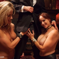 Bella Rossi in 'Kink' Masquerade Orgy with Nine Slaves,100 Horny Guests, Part One (Thumbnail 7)