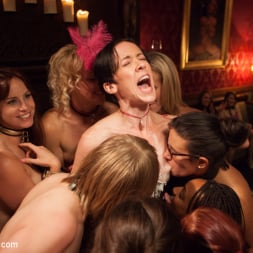 Bella Rossi in 'Kink' Masquerade Orgy with Nine Slaves,100 Horny Guests, Part Three (Thumbnail 6)