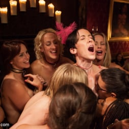 Bella Rossi in 'Kink' Masquerade Orgy with Nine Slaves,100 Horny Guests, Part Three (Thumbnail 7)