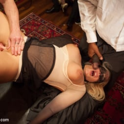 Bella Rossi in 'Kink' Masquerade Orgy with Nine Slaves,100 Horny Guests, Part Two (Thumbnail 2)