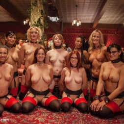 Bella Rossi in 'Kink' Masquerade Orgy with Nine Slaves,100 Horny Guests, Part Two (Thumbnail 6)