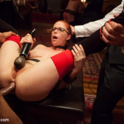 Bella Rossi in 'Kink' Masquerade Orgy with Nine Slaves,100 Horny Guests, Part Two (Thumbnail 10)