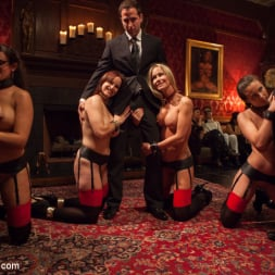 Bella Rossi in 'Kink' Masquerade Orgy with Nine Slaves,100 Horny Guests, Part Two (Thumbnail 12)