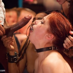 Bella Rossi in 'Kink' Masquerade Orgy with Nine Slaves,100 Horny Guests, Part Two (Thumbnail 21)