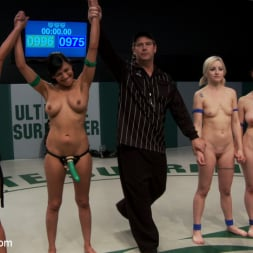 Beretta James in 'Kink' 5 girl squirt fest! Losers get dominated by the winners AND the ref!!! (Thumbnail 2)