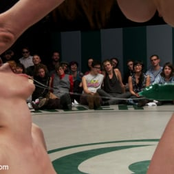 Beretta James in 'Kink' 5 girl squirt fest! Losers get dominated by the winners AND the ref!!! (Thumbnail 6)