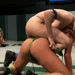 Beretta James in 'Kink' RD 14 of March's Live Tag Team Match: Totally non-scripted collegian style sexual lesbian wresting! (Thumbnail 3)