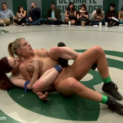 Beretta James in 'Kink' RD 14 of March's Live Tag Team Match: Totally non-scripted collegian style sexual lesbian wresting! (Thumbnail 10)