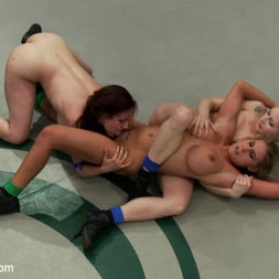 Beretta James in 'Kink' RD 34 of March's Live Tag Team Match: Totally non-scripted collegian style sexual lesbian wresting! (Thumbnail 1)