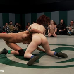 Beretta James in 'Kink' RD 34 of March's Live Tag Team Match: Totally non-scripted collegian style sexual lesbian wresting! (Thumbnail 2)
