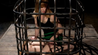 Bobbi Starr in 'Surprising Shocks from a Metal Cage'