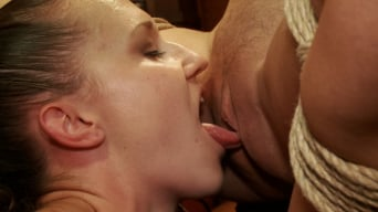 Bonnie Day in 'Making an Upper Floor Slave, and Monster Cock Fucks Hot Blonde Slut'
