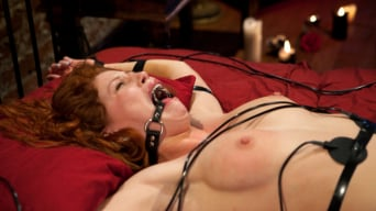 Brooklyn Lee in 'Fiery Redhead Brooklyn is back for Electro Lezdom BDSM!'