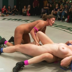 Bryn Blayne in 'Kink' RD 14 of May's Live Tag Team Match: Totally non-scripted lesbian wrestling! (Thumbnail 6)