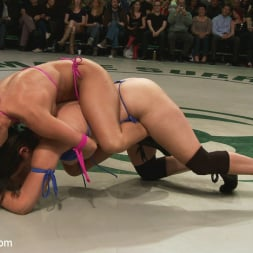 Bryn Blayne in 'Kink' RD 14 of May's Live Tag Team Match: Totally non-scripted lesbian wrestling! (Thumbnail 18)