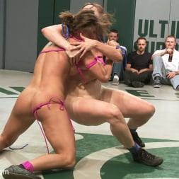 Bryn Blayne in 'Kink' RD 14 of May's Live Tag Team Match: Totally non-scripted lesbian wrestling! (Thumbnail 20)