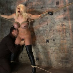 Candy Manson in 'Kink' California Blond has her massive tits severly bound We rip Orgasm after Orgasm out of her hot bod (Thumbnail 4)