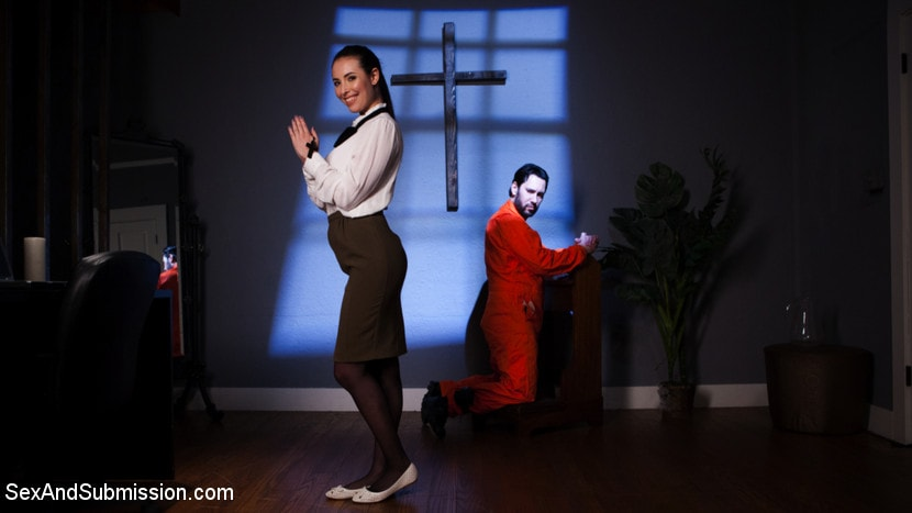 Kink 'Anal Baptism' starring Casey Calvert (Photo 1)