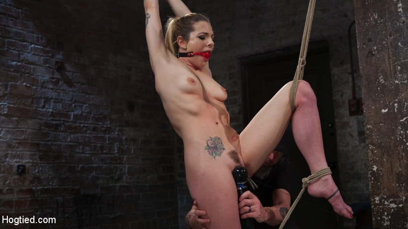 Kink 'Casey and Dahlia Suffer Together in Brutal Bondage' starring Casey Calvert (Photo 10)