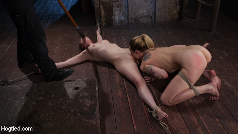 Kink 'Casey and Dahlia Suffer Together in Brutal Bondage' starring Casey Calvert (Photo 14)