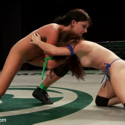 Cassandra Nix in 'Kink' FEATHERWEIGHTS get hot and messy on the mat. (Thumbnail 11)