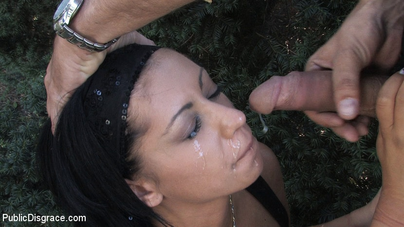 Kink 'Ass fucking and cock sucking in public!' starring Cassie (Photo 3)
