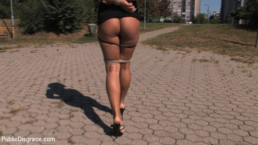 Kink 'Ass fucking and cock sucking in public!' starring Cassie (Photo 14)