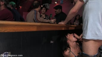 Cecilia Vega in 'is bound, fucked and used by a bar full of strangers'