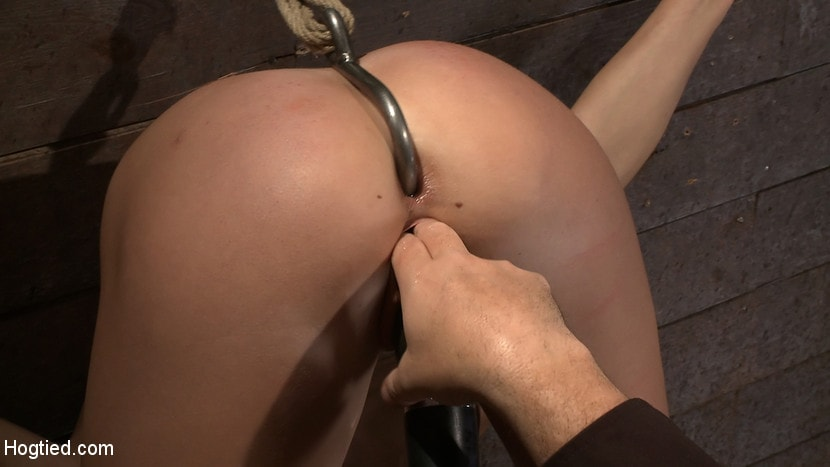 Kink 'Ass hooked, caned and made to cum so much she begs for mercy Humilated and abused, so helpless!' starring Chanel Preston (Photo 11)