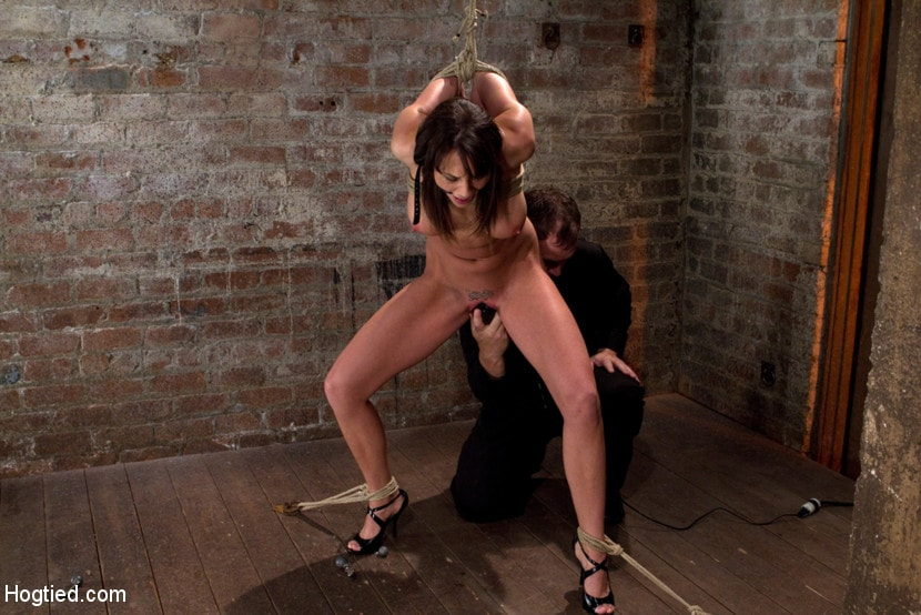 Kink 'Girl next door is overwhelmed from the orgasms we rip from her helpless body Brutal rope Bondage!' starring Chanel Preston (Photo 3)