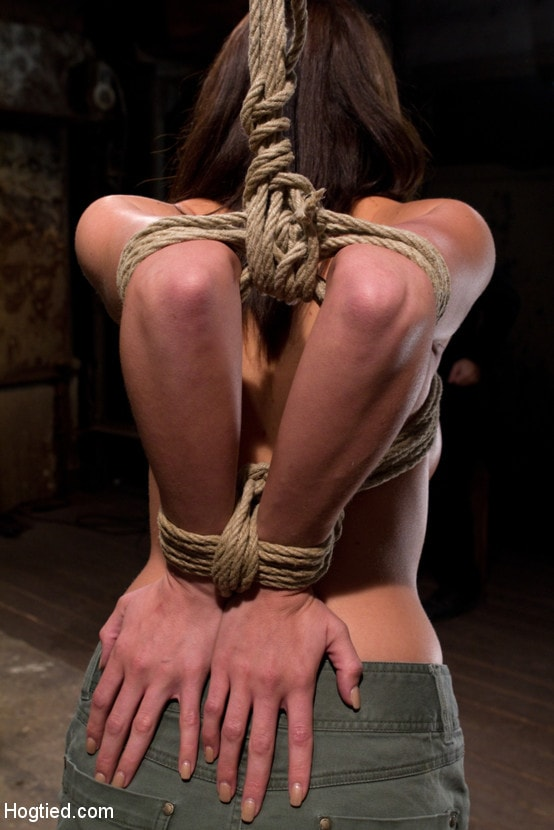 Kink 'Girl next door is overwhelmed from the orgasms we rip from her helpless body Brutal rope Bondage!' starring Chanel Preston (Photo 8)