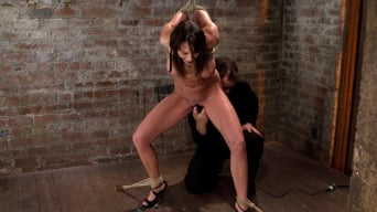 Chanel Preston in 'Girl next door is overwhelmed from the orgasms we rip from her helpless body Brutal rope Bondage!'