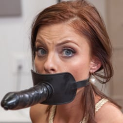 Chanel Preston in 'Kink' Hot Bitch Boss relieves stress with Submissive Slut Assistant! (Thumbnail 7)