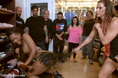 Chanell Heart - Eager Doe-eyed Slut fucked, humiliated and left at local Vintage Store (Thumb 14)