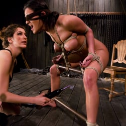 Charley Chase in 'Kink' Charlie's Natural 34 DD's get tied and shocked! (Thumbnail 1)