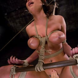 Charley Chase in 'Kink' Charlie's Natural 34 DD's get tied and shocked! (Thumbnail 2)