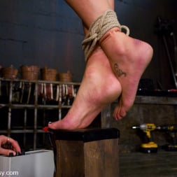 Charley Chase in 'Kink' Charlie's Natural 34 DD's get tied and shocked! (Thumbnail 8)