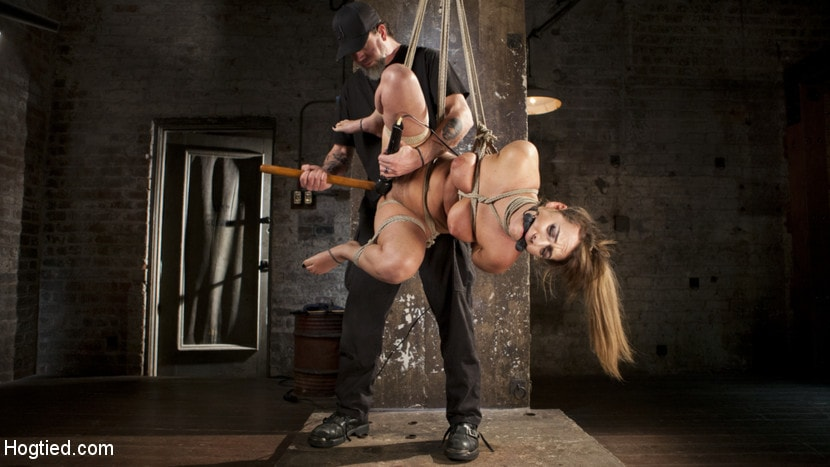 Kink 'Charlotte's Caught in a Web of Bondage and Tormented' starring Charlotte Cross (Photo 11)