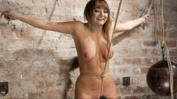 Charlotte Cross - Charlotte's Caught in a Web of Bondage and Tormented