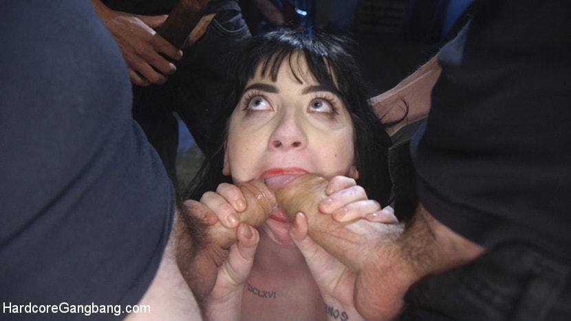 Kink 'Psycho Bitch Gangbang' starring Charlotte Sartre (Photo 6)