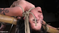 Charlotte Sartre - Submissive Goth Girl is Bound, Tormented, and Made to Cum (Thumb 06)