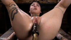 Charlotte Sartre - Submissive Goth Girl is Bound, Tormented, and Made to Cum (Thumb 12)