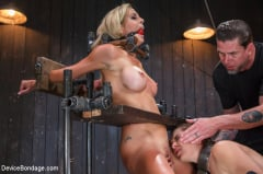 Cherie Deville - 1 MILF and 1 Pain Slut equals 2 Whores Suffering (Thumb 09)