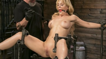Cherie Deville - Athletic MILF Fuck Toy Cherie Deville Punished in Bondage and Sybian!!