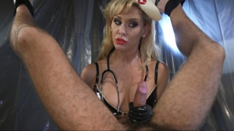 Cherie Deville in 'Nurse Cherie DeVille Inflicts Sadistic Medical Malpractice on DJ'