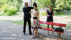 Cherry Kiss - 19 Year Old Rebecca Volpetti Humiliated with Public Sex and Punishment (Thumb 04)